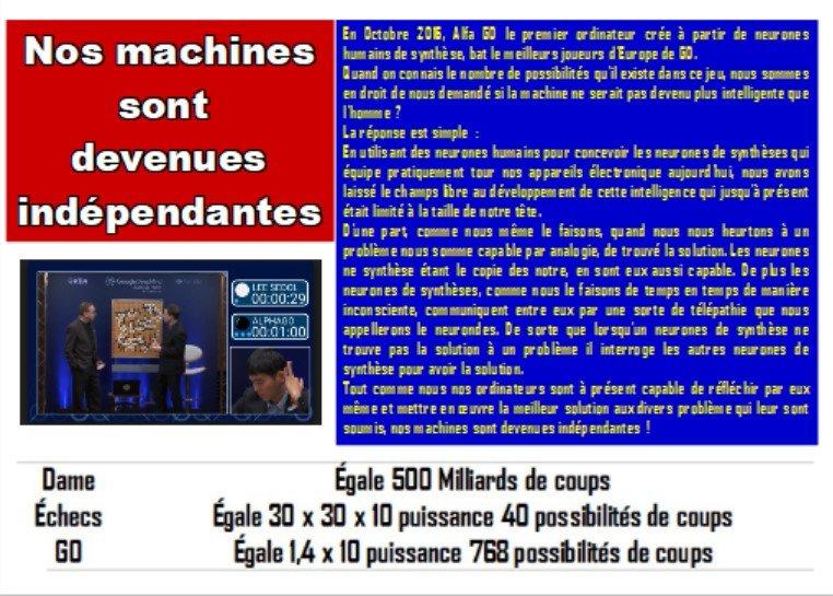 machines indépendantes