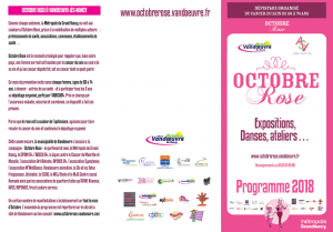 Octobre rose 2018 prog A